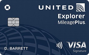Chase United Explorer Card