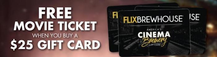 Flix Brewhouse GC Promotion