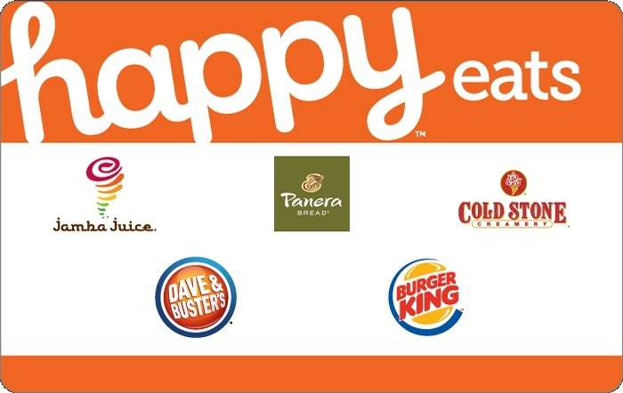 Purchase $50 Happy Gift Card for $42.50
