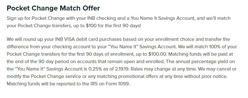 Illinois National Bank Promotion