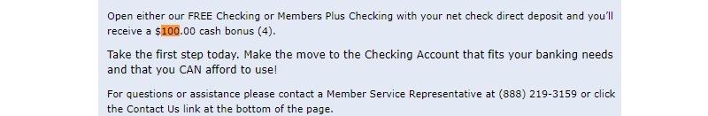 U$X Federal Credit Union Promotion