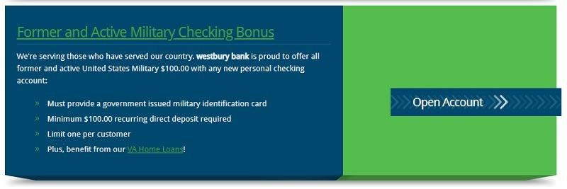 Westbury Bank Promotion