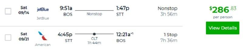 Flight Deal