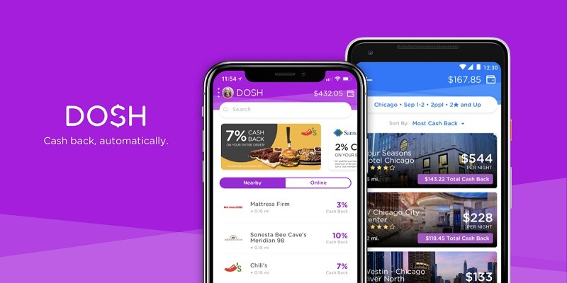 Dosh Promotions, Coupons, Cashback Offers, Sign Up Bonus 2019