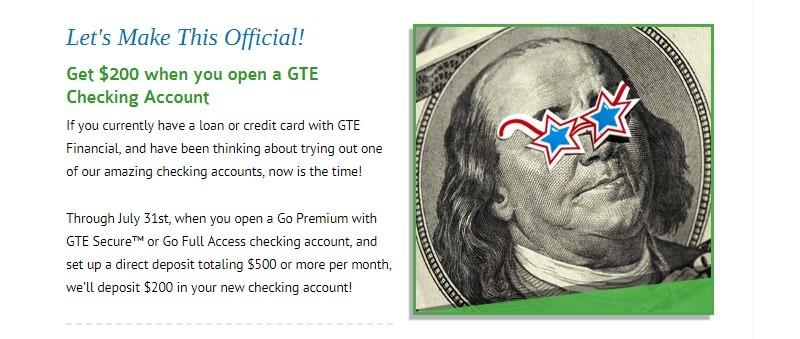 GTE Financial Promotion