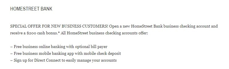 HomeStreet Bank Business