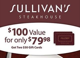 Sullivan's Steakhouse promotion