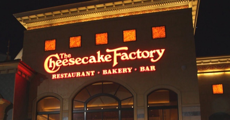 Cheesecake Factory promotions