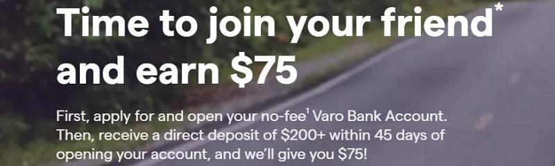 Varo $100 Referral Bonus August 2019 (Nationwide)