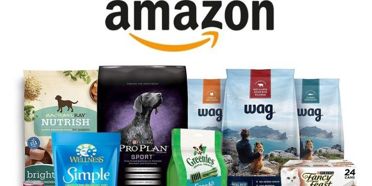 Amazon Pet Food Promotion