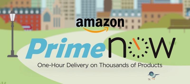 Amazon Prime Now Promotion