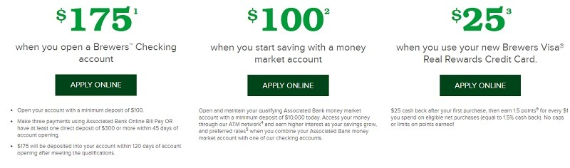 Associated Bank Promotion