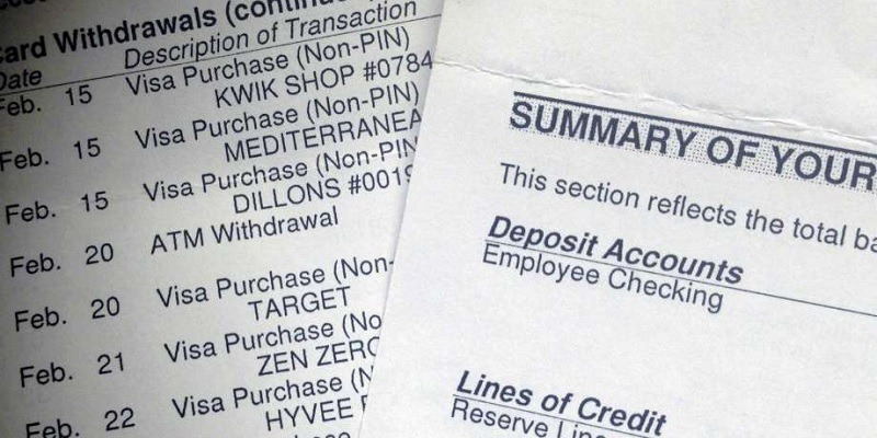 What Is A Bank Statement & How To Use It