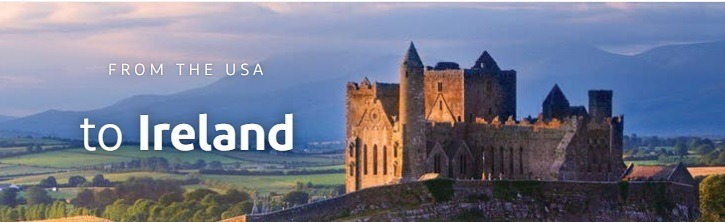 Get Flights from The US to Ireland