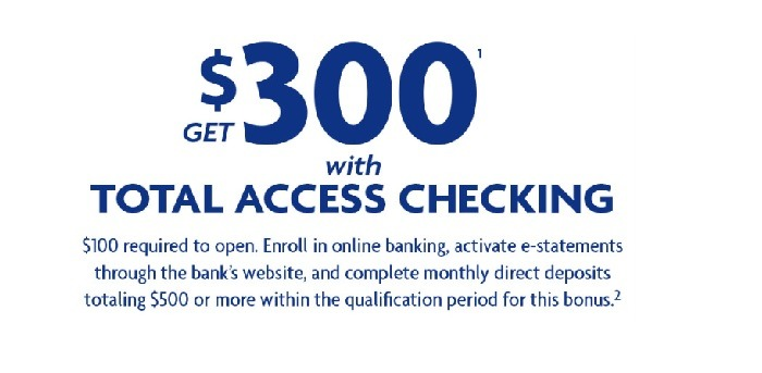 Wintrust  Community Bank $300 Checking Promotion
