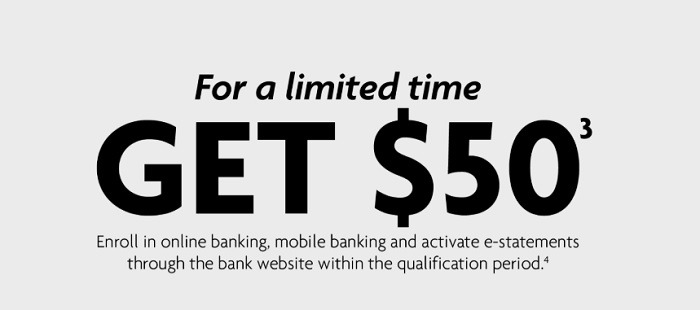 Wintrust Community Bank $50 Checking Promotion