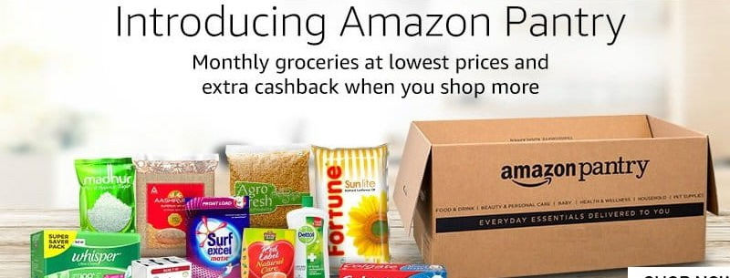 Amazon Prime Pantry Promotion