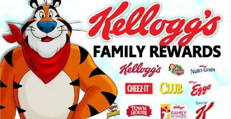Kellogg's Family Rewards Promotion