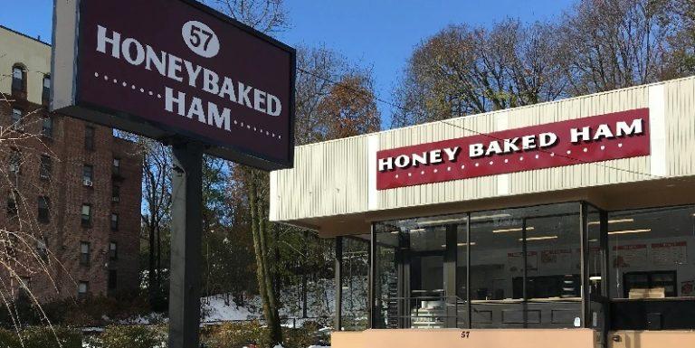 honeybaked ham store front