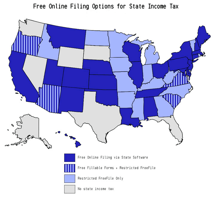 Free State Income Tax eFile Options - 2019 - Hustler Money Blog