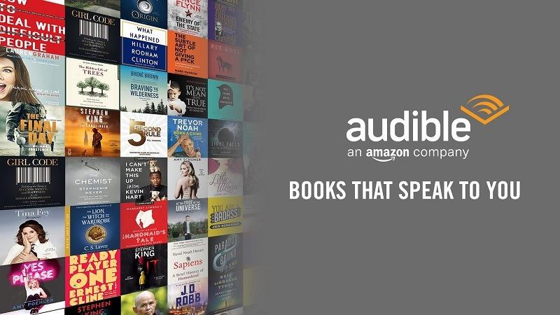 Amazon Audible Gold Digital Membership Promotion