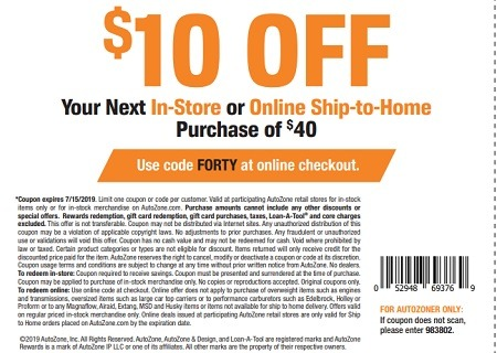 Get $10 off your $40 purchase with this coupon