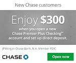 Chase Premier Checking Bonus
