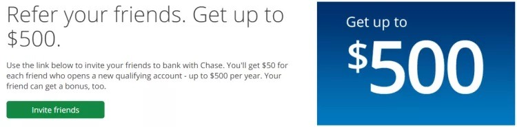 Chase Bank Referral