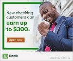 TD Bank Checking Bonus