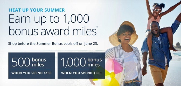 United Airlines Shopping Portal Promotion: Earn 500 up to 1,000 Bonus Miles