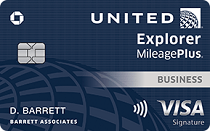 Chase United Explorer Business Card
