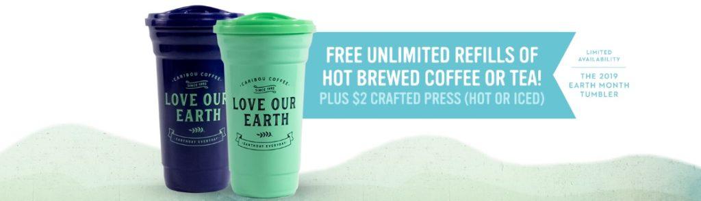 Caribou Coffee Promotion