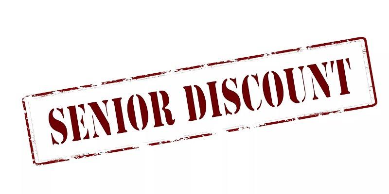 Senior Discount Promotions