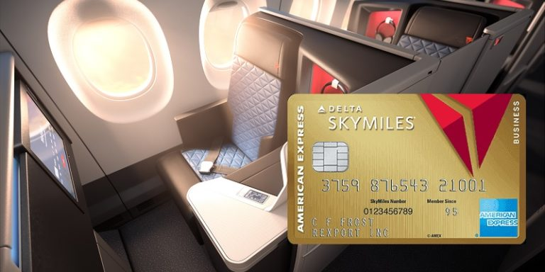 American Express Gold Delta Business card