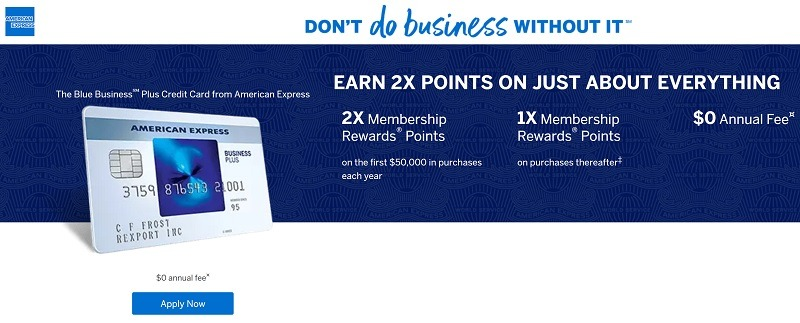 Blue Business Plus American Express