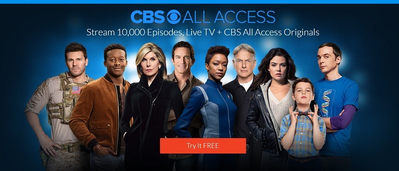 CBS All Access Promotion: 1-Month Free Trial w/ Promo Code AUGUSTHEAT