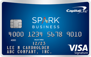 Capital One Spark Miles Business card