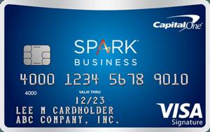 Capital One Spark Miles Business card