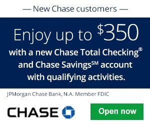 Chase Total Checking Savings Account