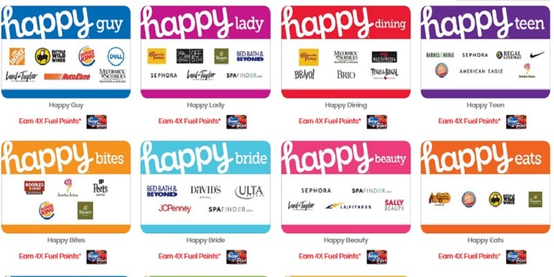 Amex Offers Happy Gift Cards Promotion: Get $15 Statement