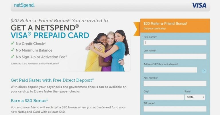 Netspend Bonus