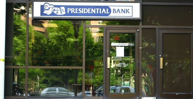 Presidential Bank CD Special