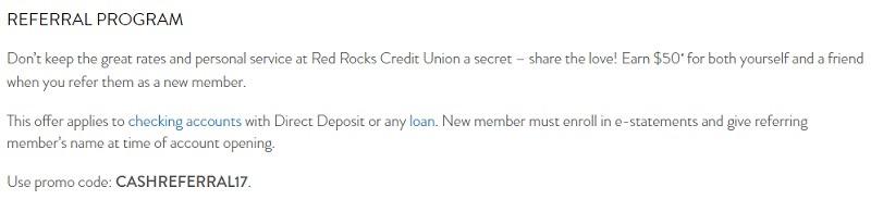 Red Rocks Credit Union Promotion