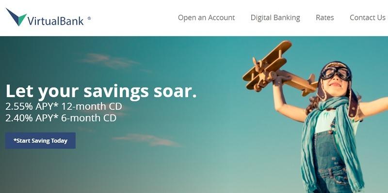 VirtualBank CD Rates