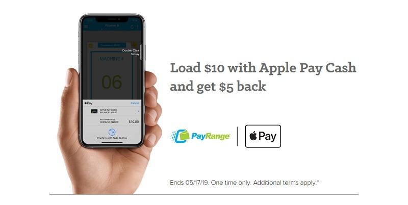 PayRange Apple Pay Promotion