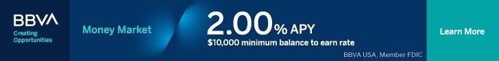 BBVA Money Market account