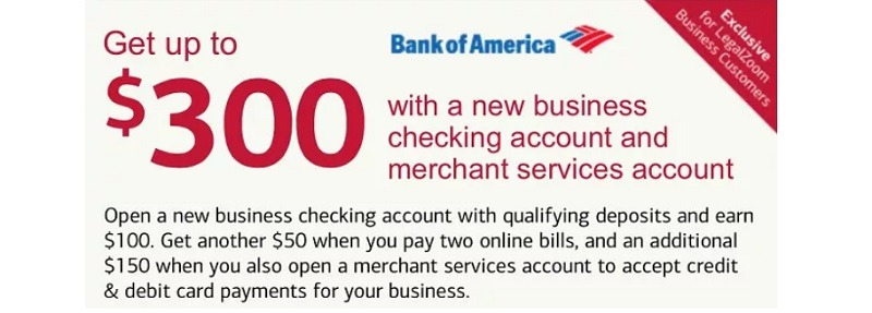 Bank of America Promotions September 2019: $100, $300, $350