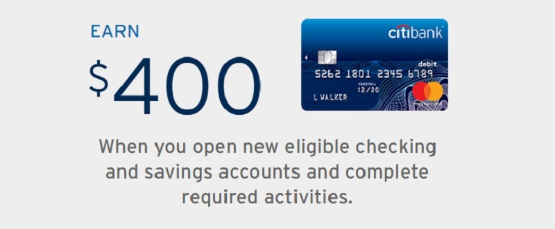 Citibank Promotions September 2019: $100, $200, $400, $500