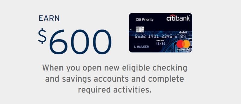 Citibank Promotions September 2019: $100, $200, $400, $500