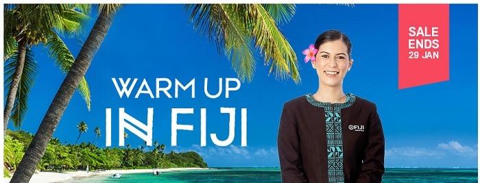 Fiji Airlines Flights to Fiji and Australia Promotion